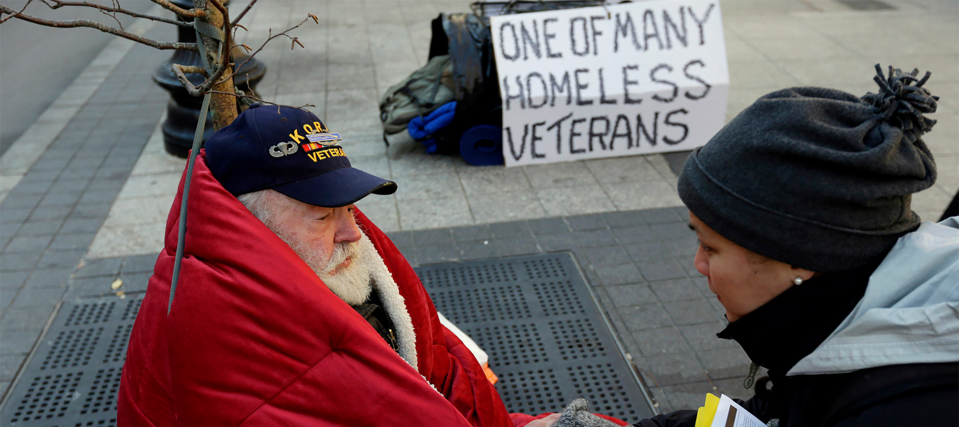 homeless veterans charity